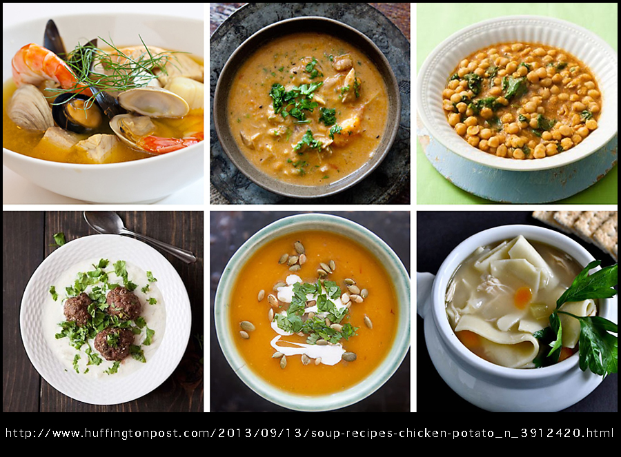 100 soup recipes huffington post