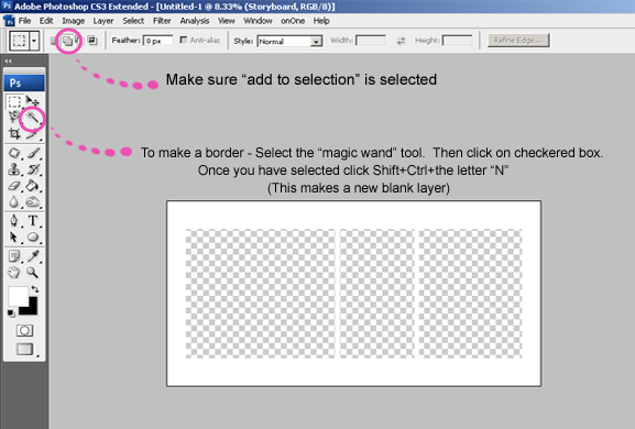 How To Make A Storyboard Template In Adobe Photoshop Taylormade Market