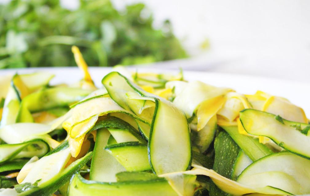 Zucchini Squash summer salad