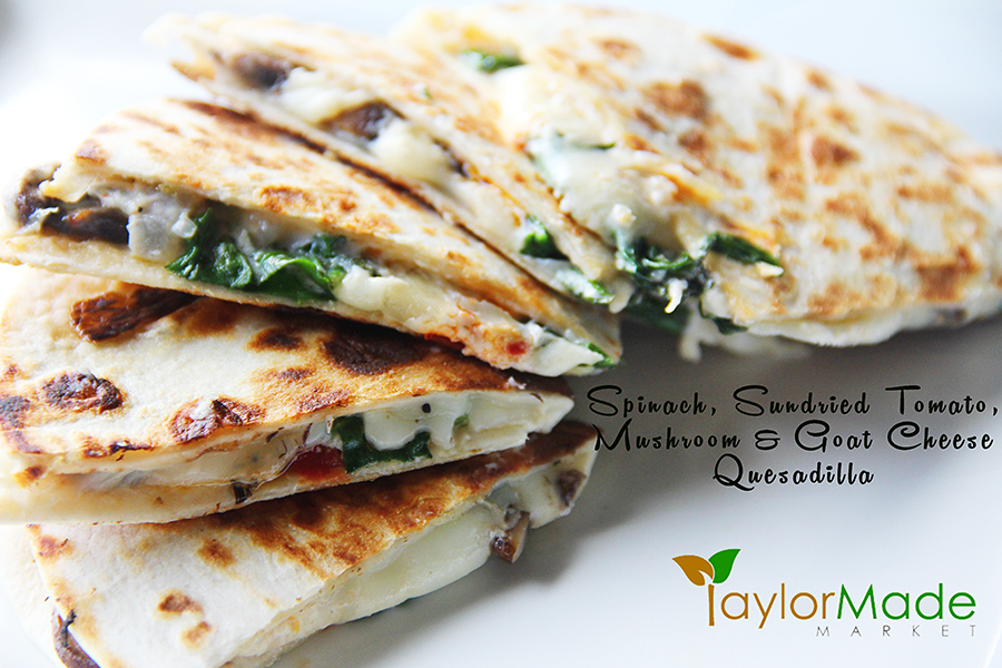 goat cheese quesadilla TM