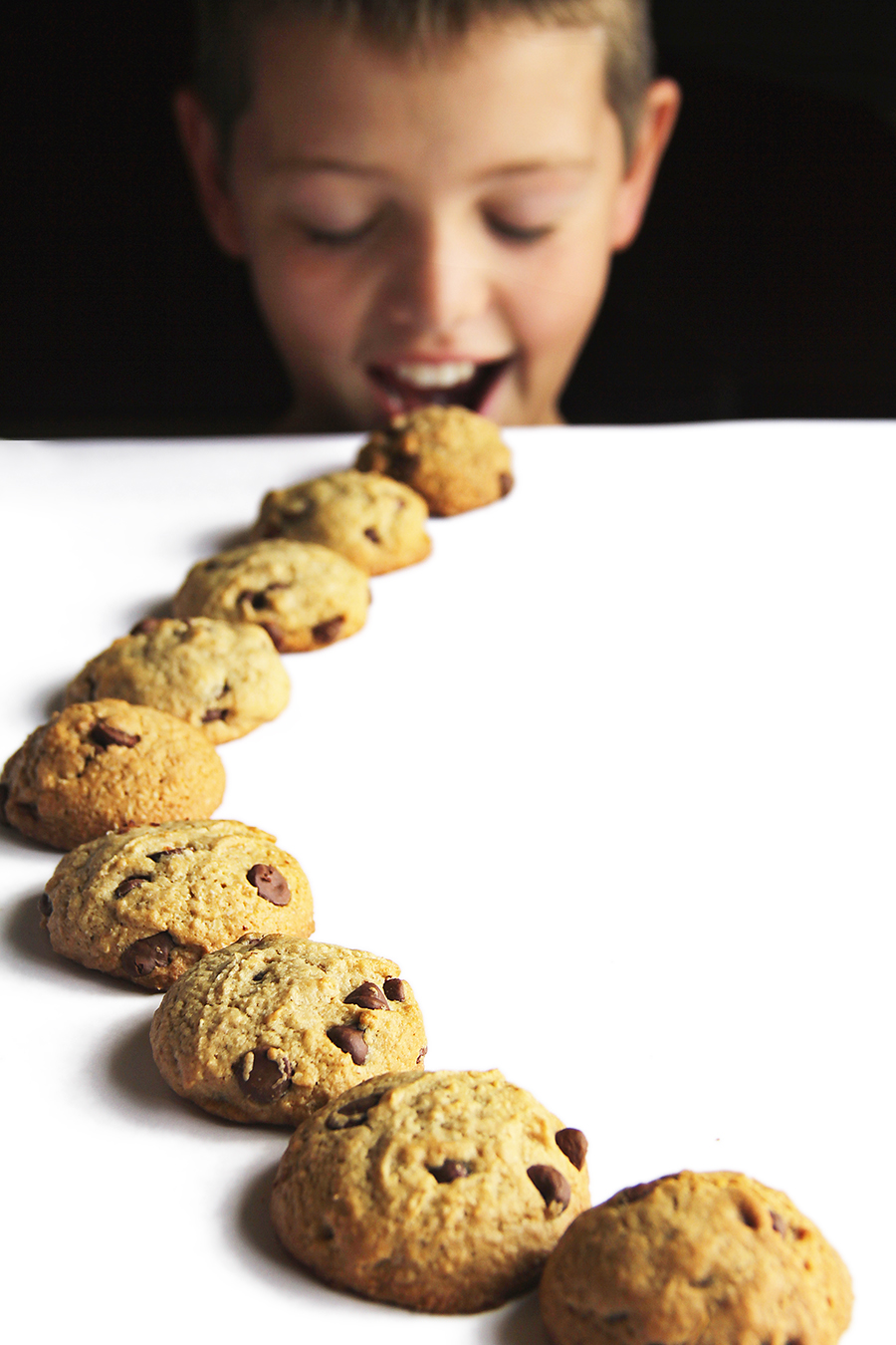 kid cookie trail