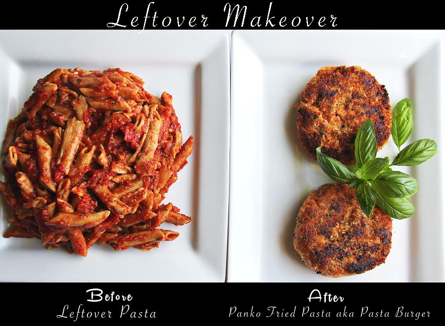 leftover makeover pasta