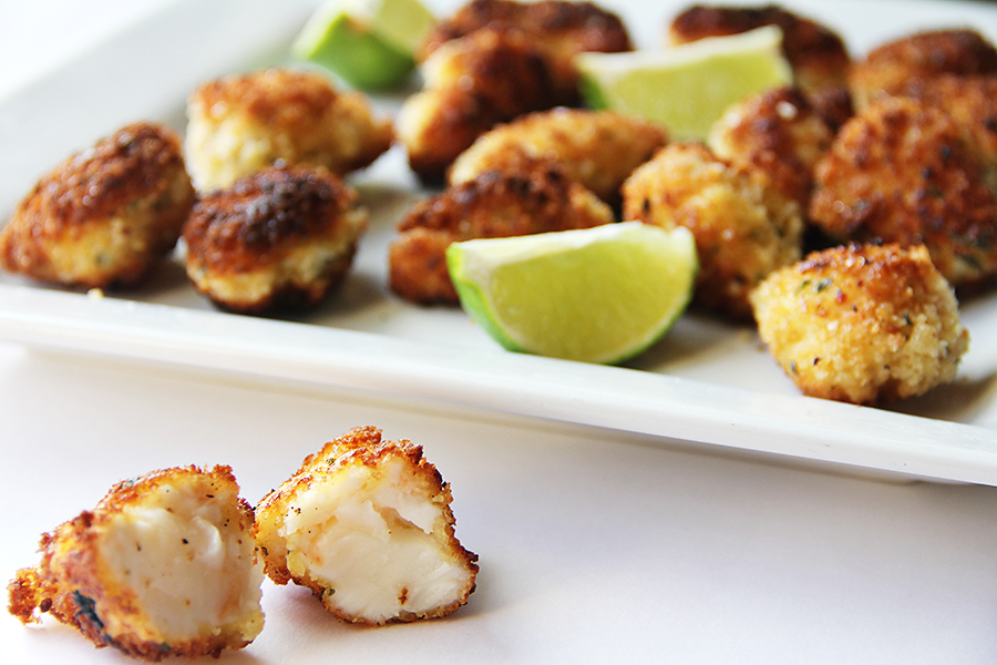 Panko Fried Lobster Bites with Lime » TaylorMade Market