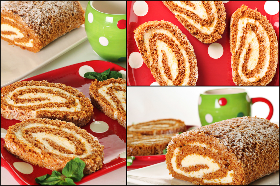 pumpkin roll blog board