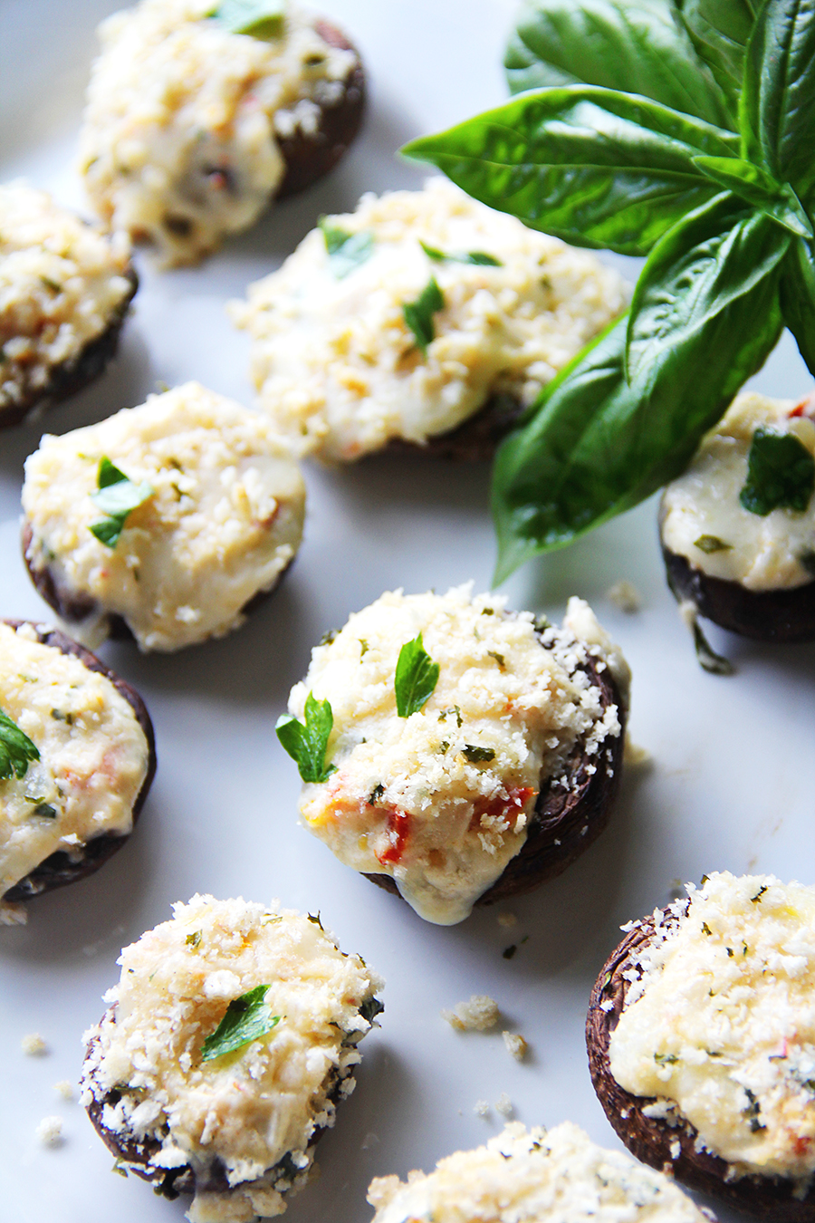 Stuffed Mushrooms vertical