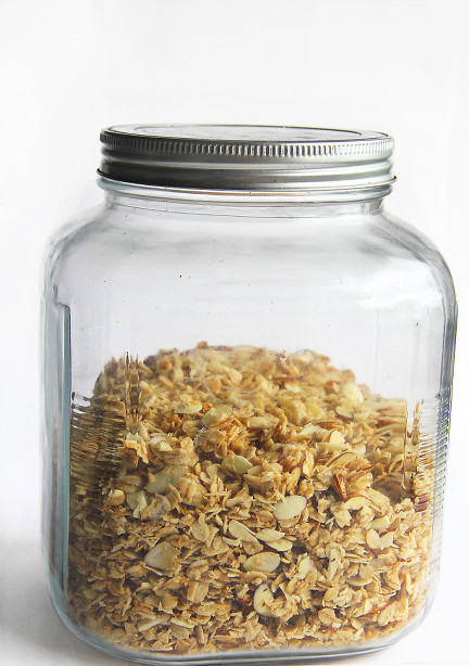 homemade coconut almond granola