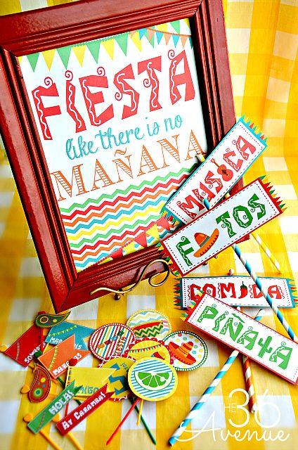 Fiesta Printables