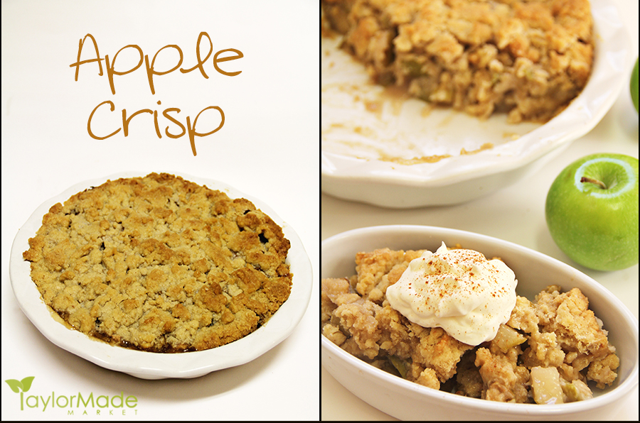 apple crisp blog board