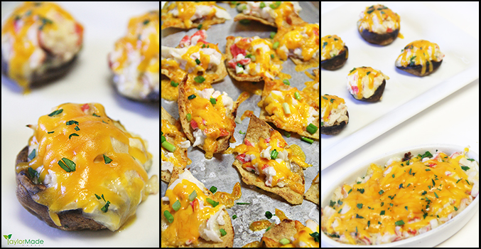crab appetizer 3 ways