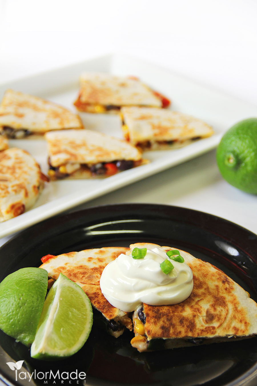 quesadilla appetizer healthy vertical