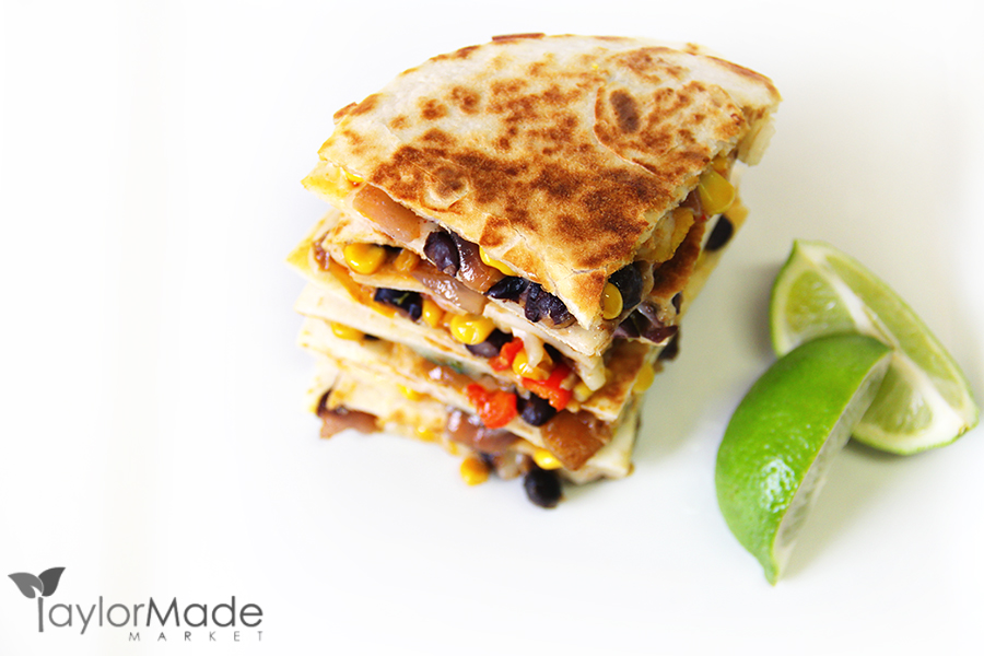 quesadilla copyspace left