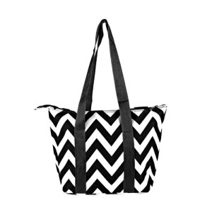 luggage AK lunch bag C15 601 chevron black 1
