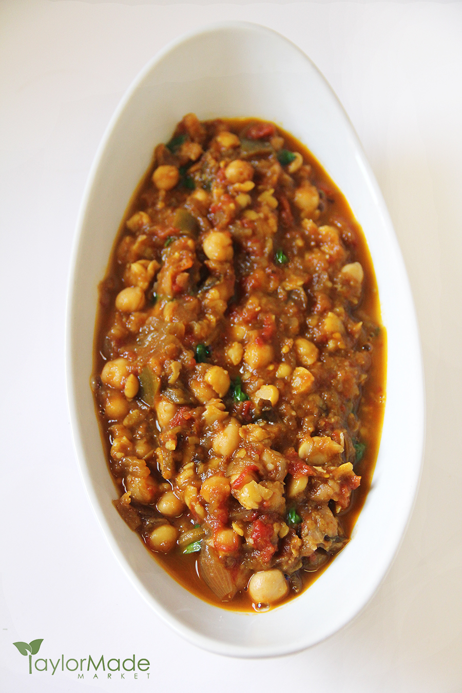 Eggplant tomato & chickpea curry vertical