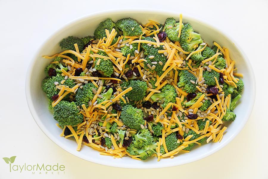 broccoli salad healthy