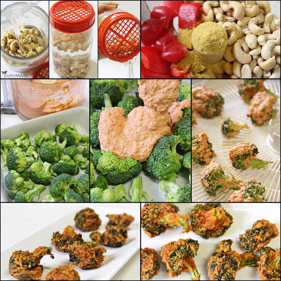 Broccoli Bites blog board