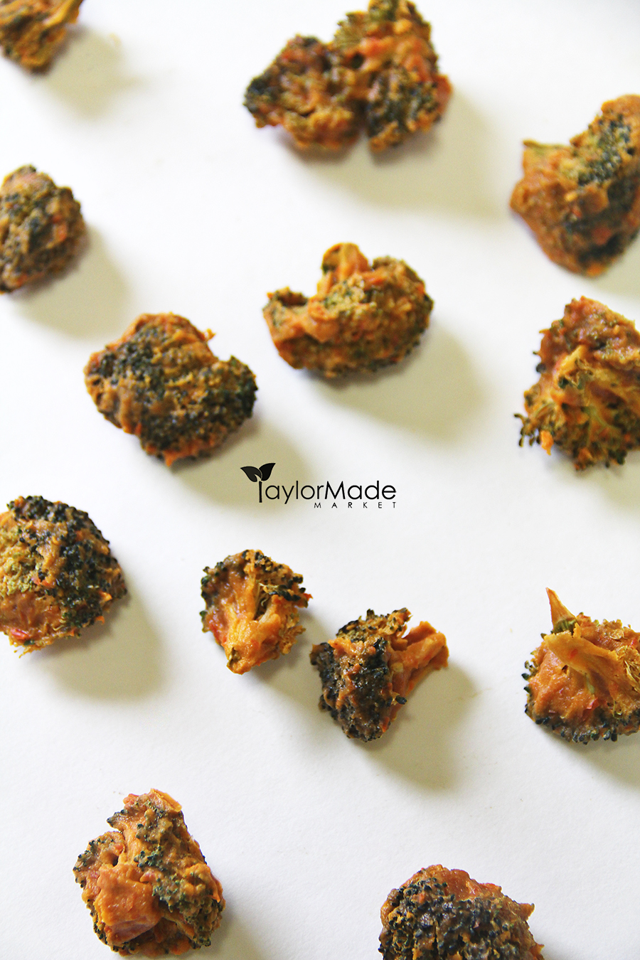 broccoli bites raw vegan vertical