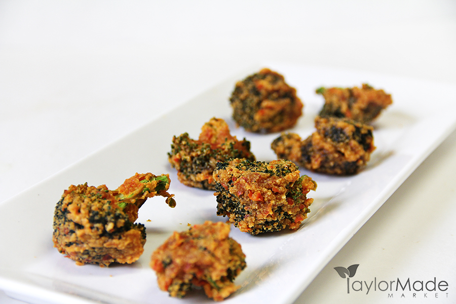 Broccoli Bites Raw Vegan