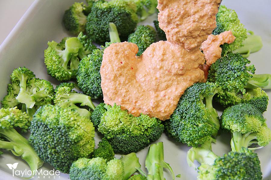 broccoli raw with cheese sauce