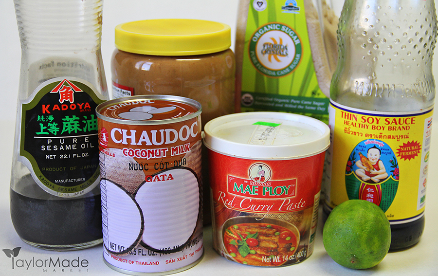 thai peanut sauce ingredients