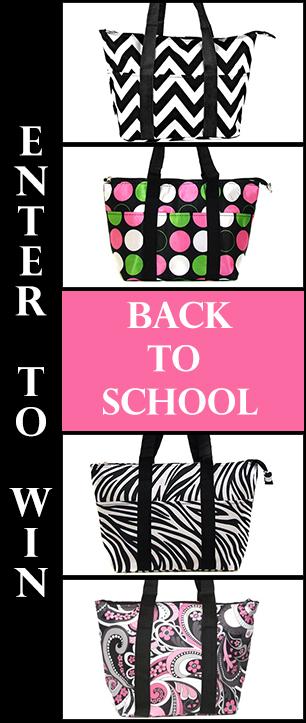 Back to School Lunchbag Giveaway