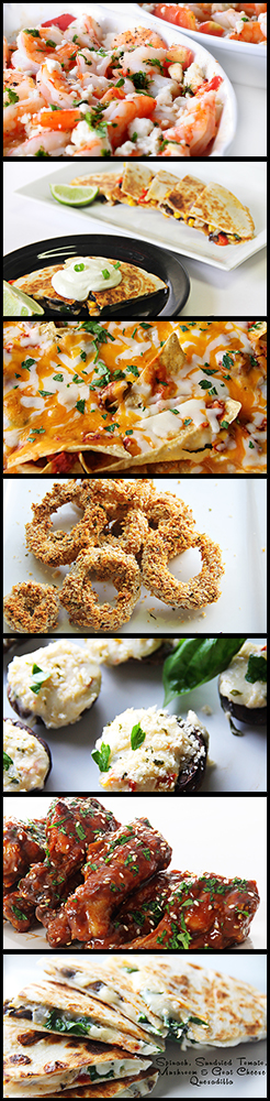 vertical template appetizer for pinterest