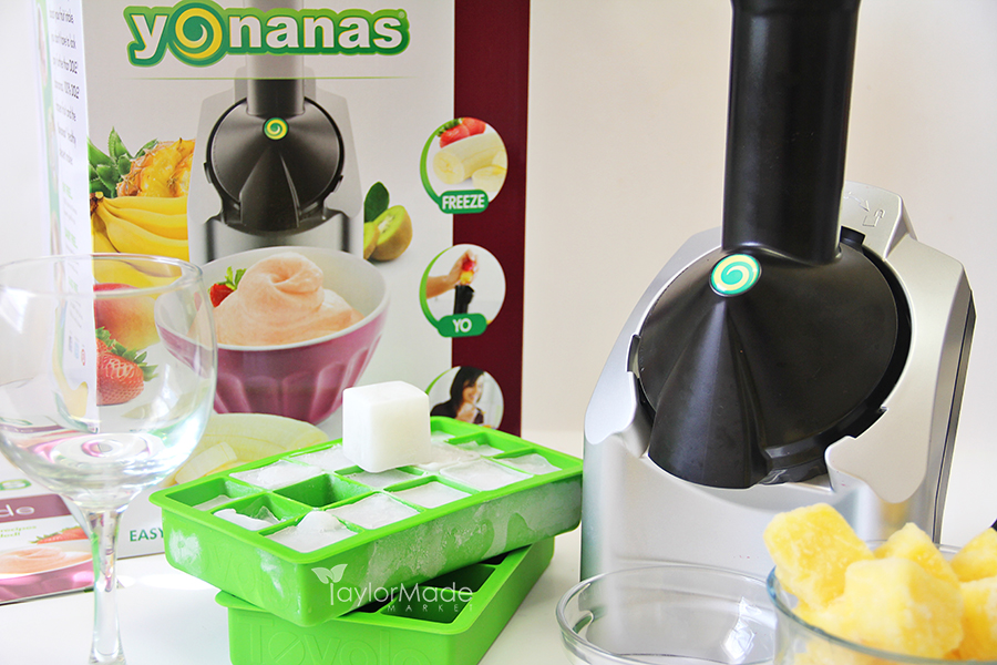 yonanas machine ice pineapple