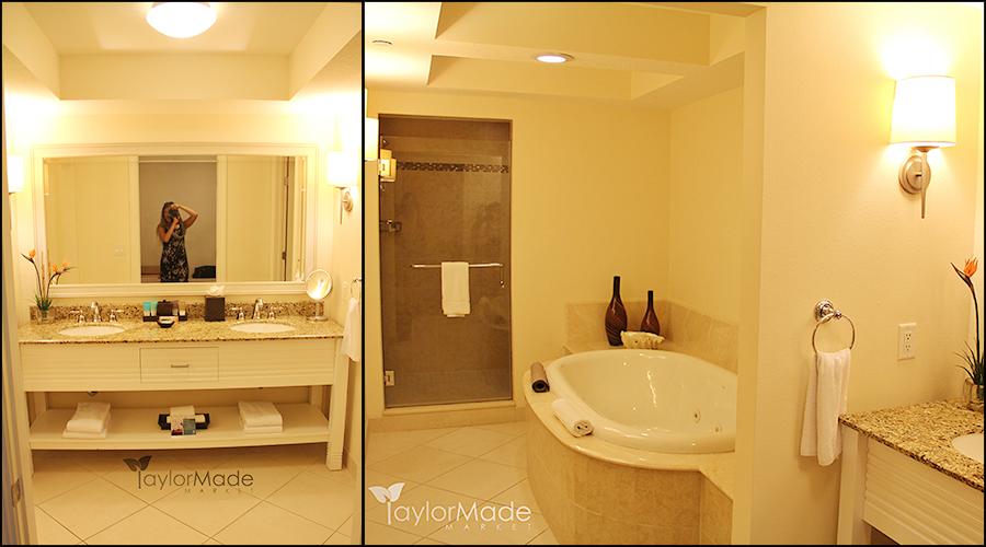 hyatt suite taylor master bath 11