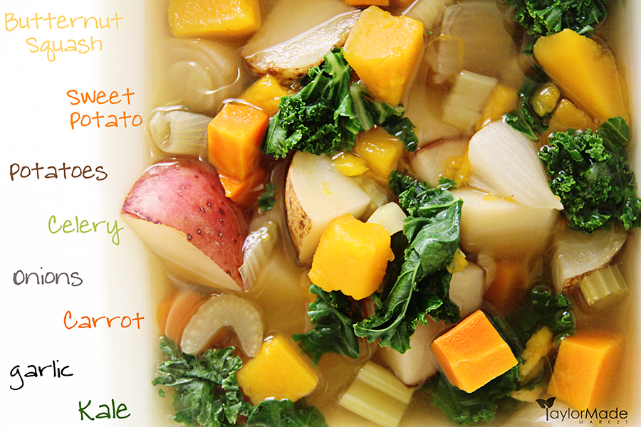 slow cooker fall harvest soup