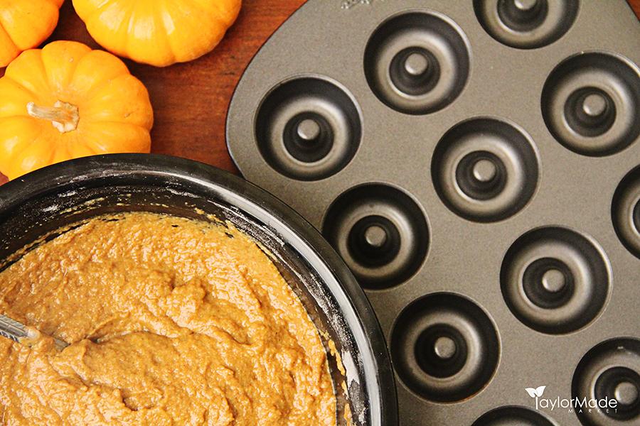 Pumpkin donut mixture TaylorMade Market