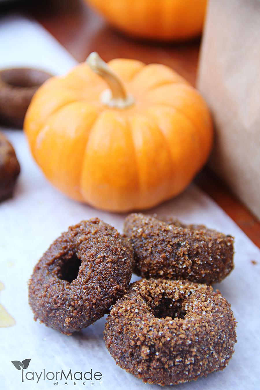 Pumpkin donuts vertical TaylorMade Market
