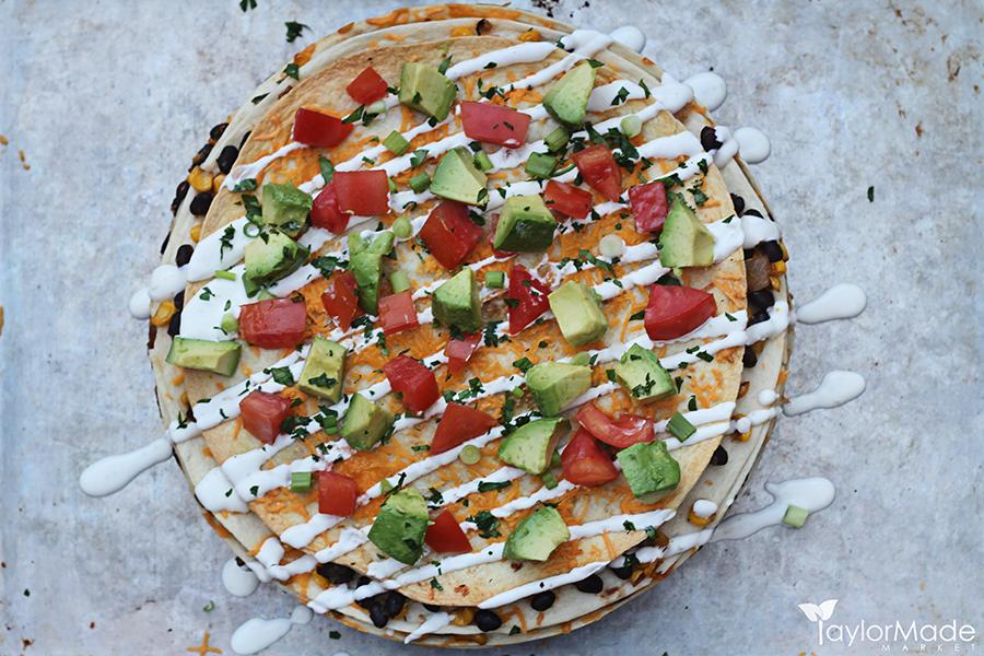santa fe tortilla stack taylormade market