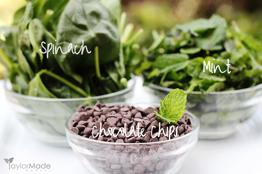 Mint Chocolate Chip Healthy version