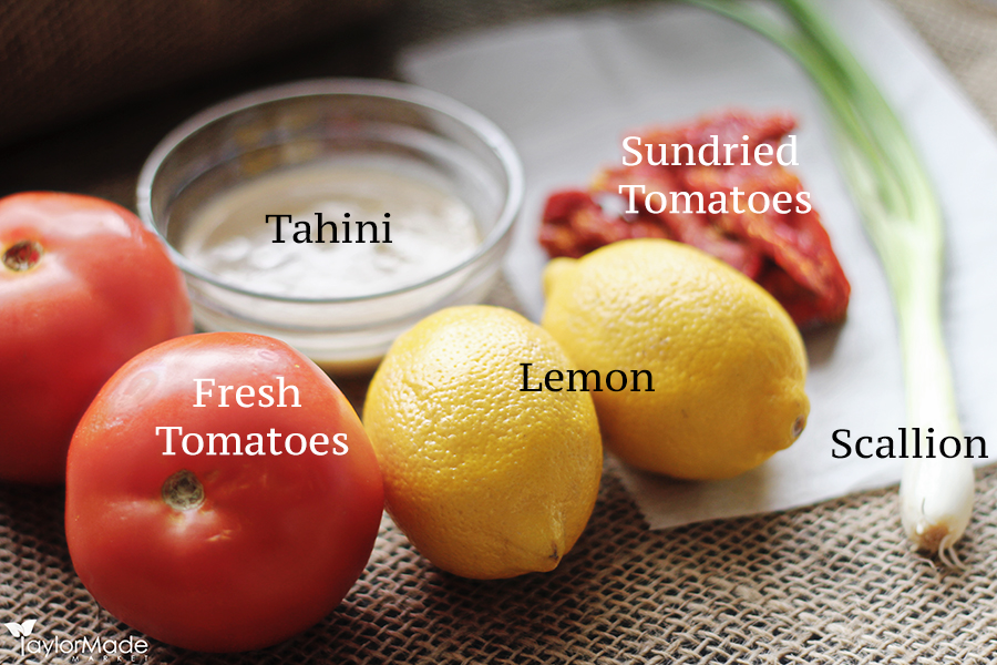 Tomato Tahini Ingredients 2